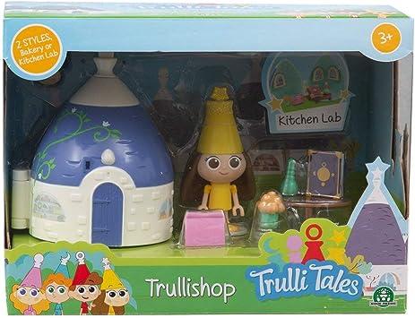 Giochi Preziosi Italy Trullalleri Mini Playset Kitchen Lab con Accessori e Personaggio, Modelli assortiti, 1 pezzo