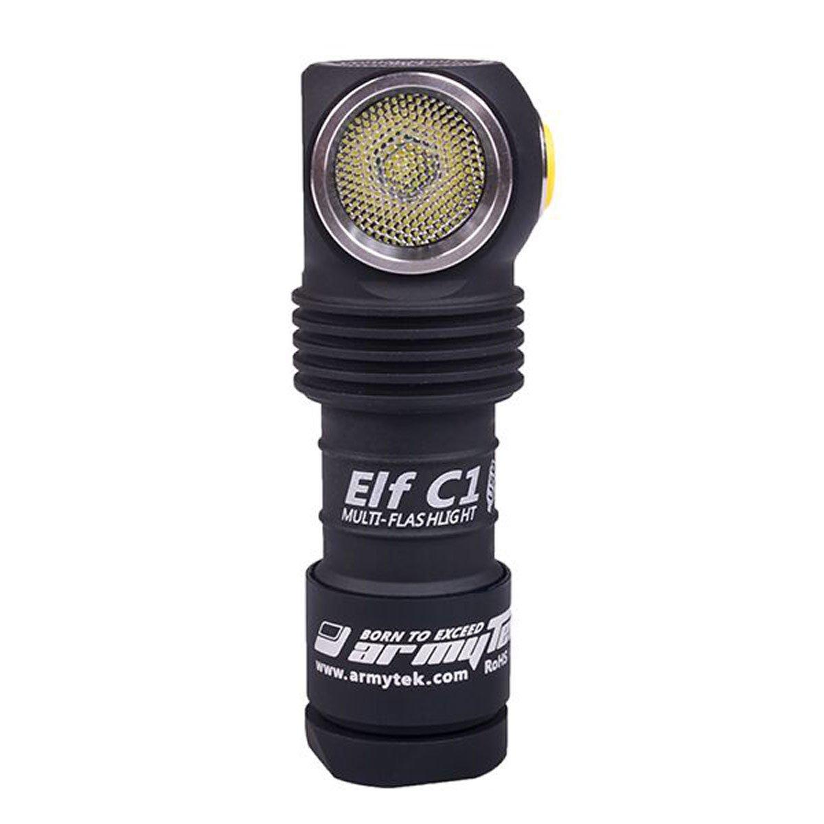 WarmWeiß Armytek Elf C1 CW mit 1050 Lumen und XP-L LED per Micro-USB ladbar