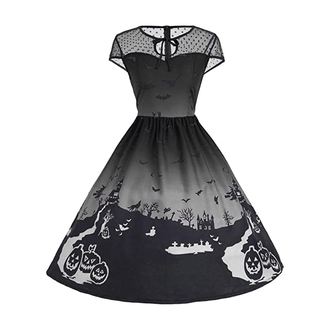 637f000c39a0e Big Promotions Women's Halloween Dress ODGear Vintage Sleeveless ...