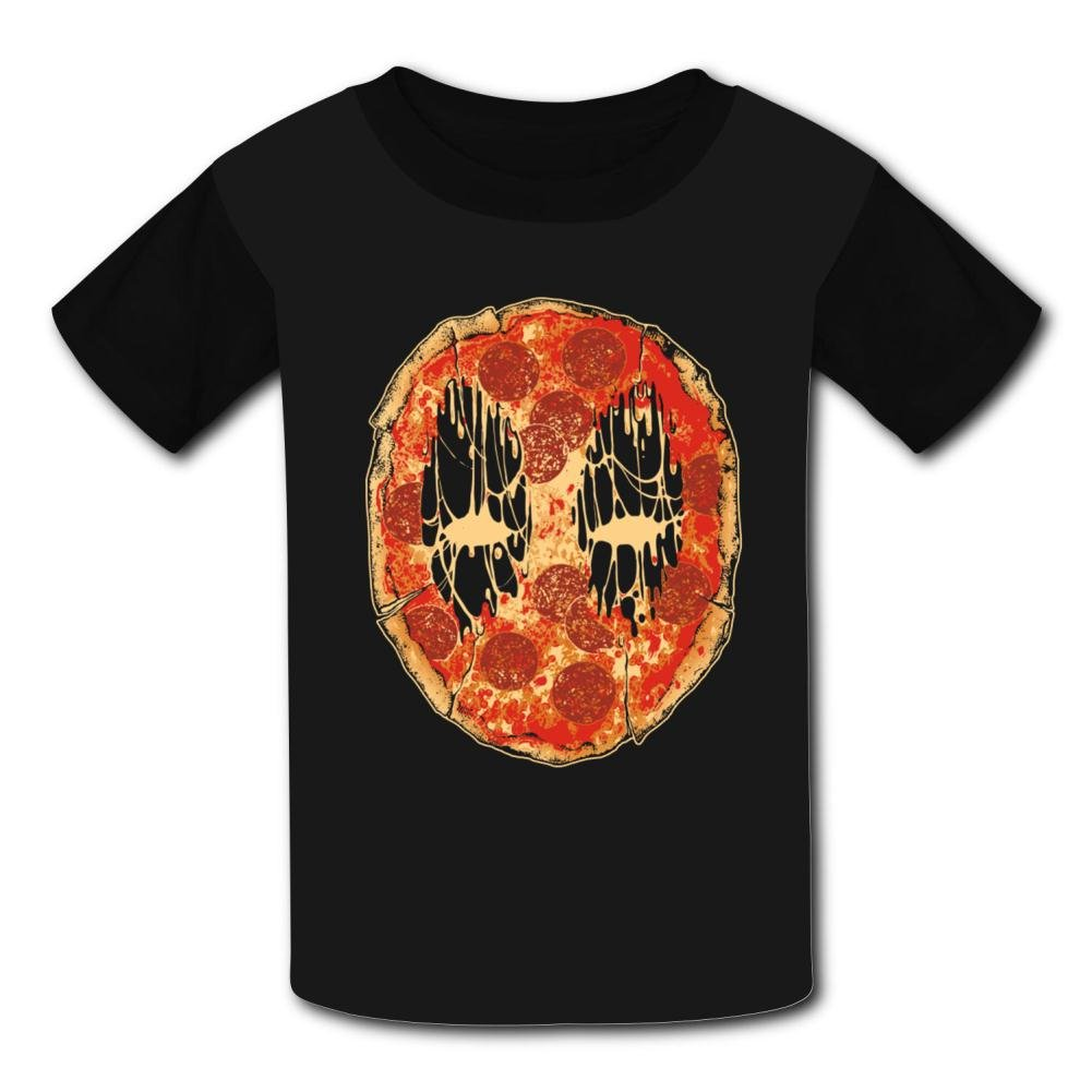Chengquw Pizza Face Children's T-Shirt