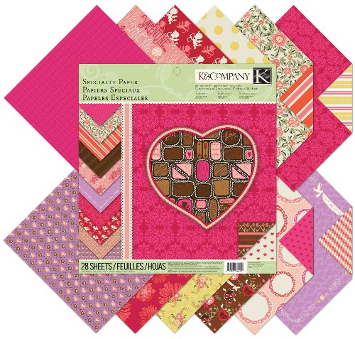 K&Company Specialty Paper Pad, Cupid