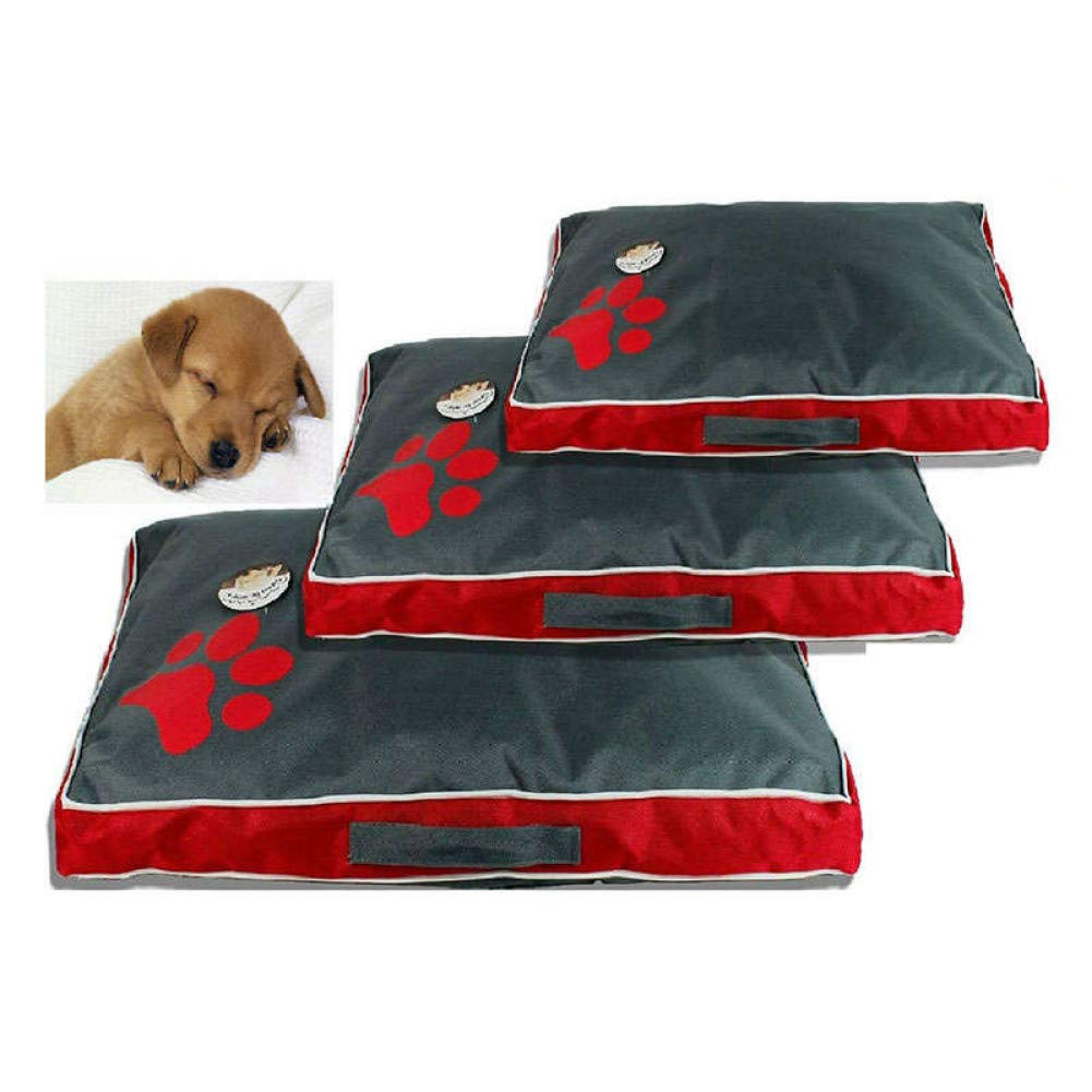 L WWSSXX Dog Bed Cushion For Large Dog Cloth Puppy Breathable Waterproof Dog House Pad Pet Nest Bed Sofa Blanket