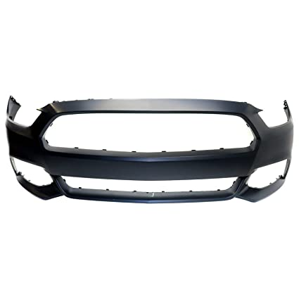 MBI AUTO - Painted to Match, Front Bumper Cover Fascia for 2015 2016 2017  Ford Mustang W/Out Tow Holes 15 16 17, FO1000704