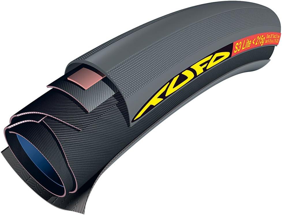 Tufo S3 Lite Tubular, 215 g, Unisex, Negro, 700 x 21 mm: Amazon.es ...