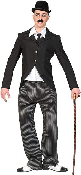 TrendClub100® Charlie Chaplin Movie Años 20 Disfraz de Adulto para ...