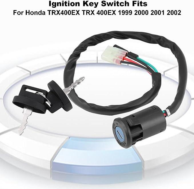 Interruptor de llave de encendido para Honda TRX400EX TRX 400EX 2004 2003 2002 2001 2000 1999