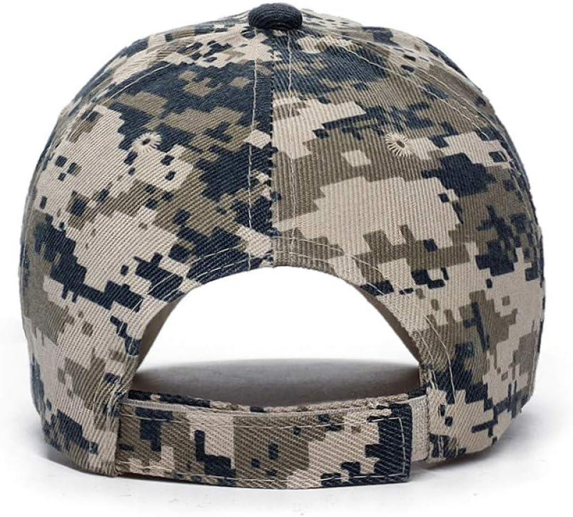 JJJRMP Casquette De Baseball Tactique Arm/ée Snapback Chapeau Coton Os R/églable M/âle en Plein Air Us Marine Casquette Snapback