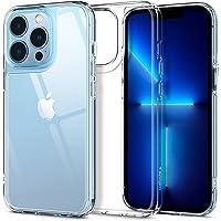 Spigen Compatible for iPhone 13 Pro Case Quartz Hybrid - Crystal Clear