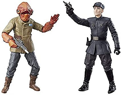 Star Wars The Black Series 6 inch Toys R Us Exclusive Admiral Ackbar *NEW*