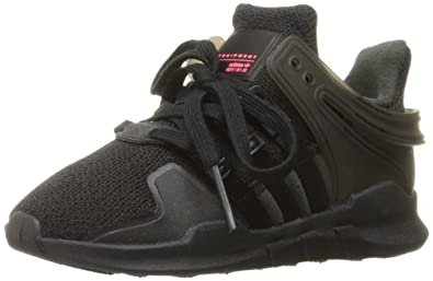 best cheap 43429 4d72b adidas Originals Boys EQT Support ADV I Sneaker BlackWhite, 6 M US