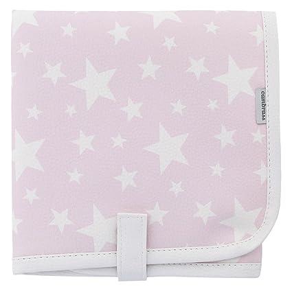 Funda para toallitas color rosa Cambrass Etoile 13 x 22 cm