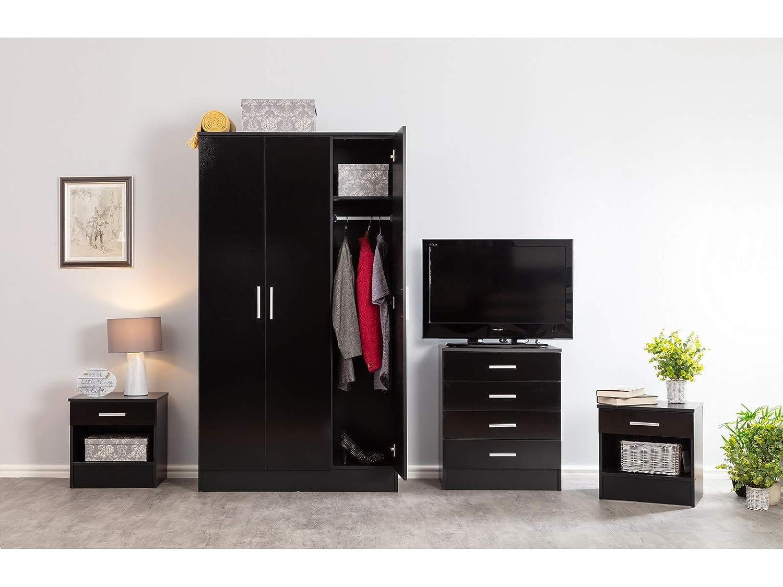 Galaxy Plus 4 Piece Bedroom Furniture Set High Gloss Large 3