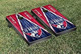 FC Dallas FCDSC MLS Soccer Regulation Cornhole Game Set Soccer Triangle Weathered Version