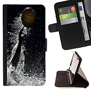 - UnderWater Polo - - Style PU Leather Case Wallet Flip Stand Flap Closure Cover FOR Samsung Galaxy Note 3 III - Devil Case -