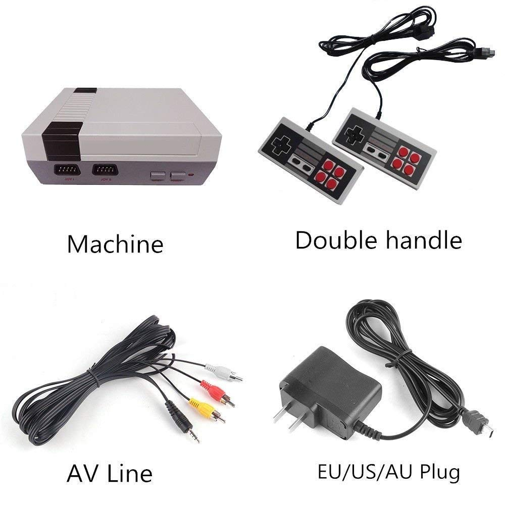 Mini Video Game Console Game Player Entertainment System Classic 620 Built-in Games 2 Controllers by KeyroTeck (Image #5)