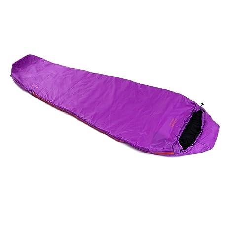 SnugPak Viaje Pak 3 Izquierdo Cremallera Bolsa de Dormir, Vivid Violet