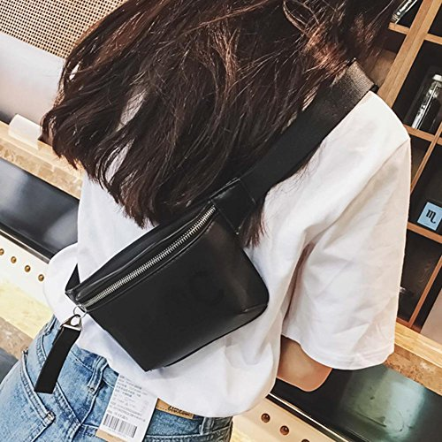 Handbags Pouch Messenger Chest Waist Belt Shoulder Everpert Women Pack Leather Fanny qUFwqpATz