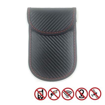 2 X Estuche bloqueador de señal de llave de coche, bolsa Faraday ...
