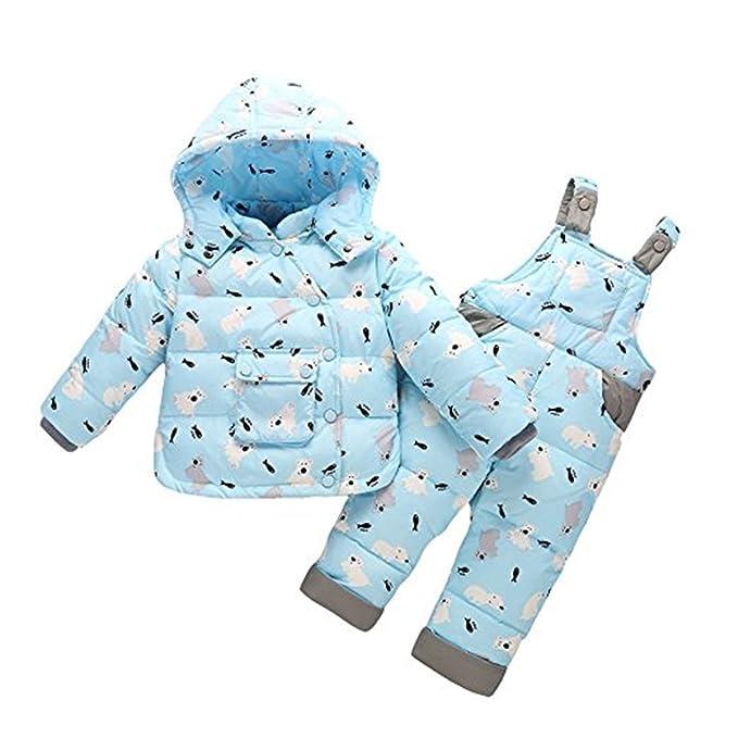 FAIRYRAIN - Traje de nieve - para bebé niño azul azul claro ...