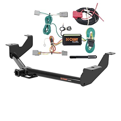 Amazon Com Curt Class 2 Trailer Hitch Bundle With Wiring For 2014