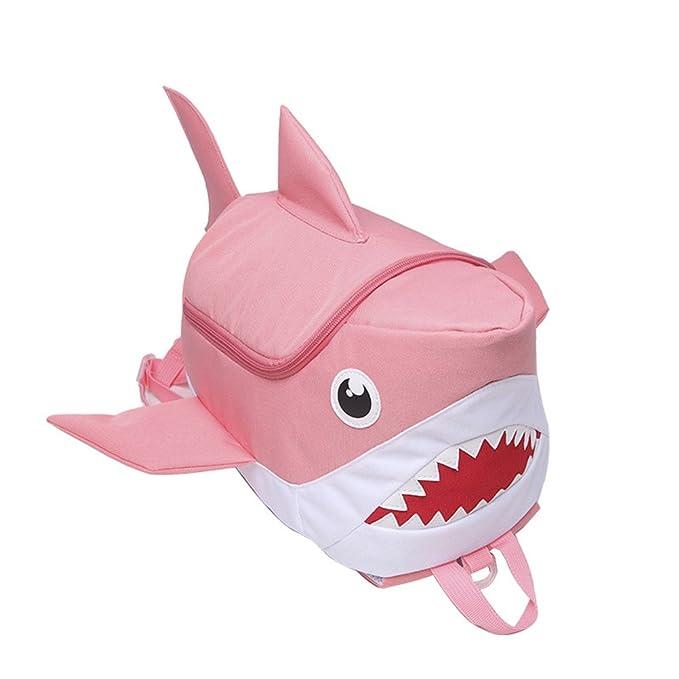 Amazon.com | Tinksky Kids Shark Bookbag Burdenless