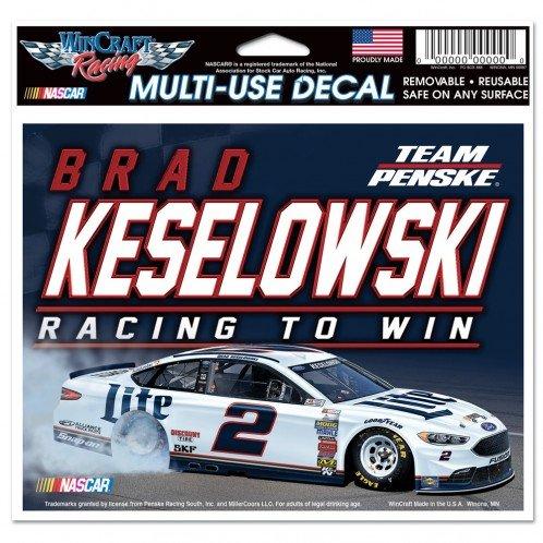Nascar Window - Brad Keselowski Official NASCAR 4.5