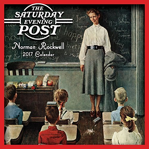 2017 SATURDAY EVENING POST NORMAN ROCKWELL ART MINI Wall Calendar