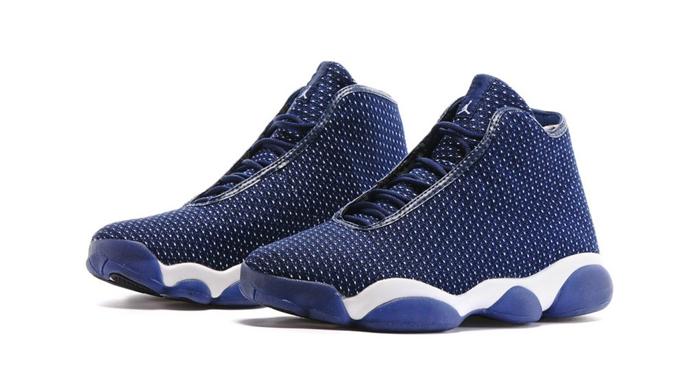 low priced 1b86a b7a43 N1KE Mens Air Jordan Horizon Blue Navy AJ13 Future Basketball Shoes Size  8.5 Paperback