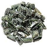 "Chrome Diopside Chips/Chunks (Pakistan) (Mostly 3/8"" - 1"") ""A/B"" - 10g. Bag"