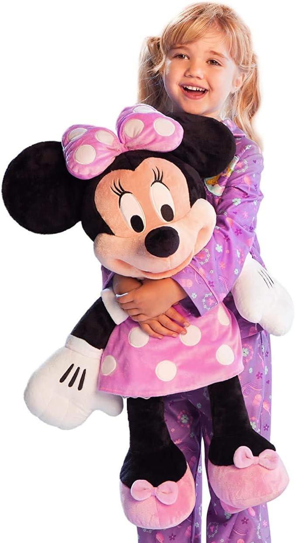 Cute*Jumbo Mickey Minnie Mouse BIG Plush Kids Birthday Toys Doll Gift.Christmas