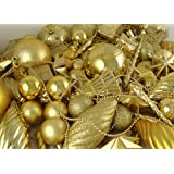 Vickerman 125-Piece Ornament Set, Gold