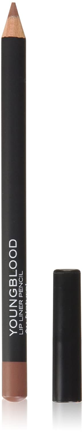 Youngblood Lip Pencil, Au Natural, 1.1gm 696137130095