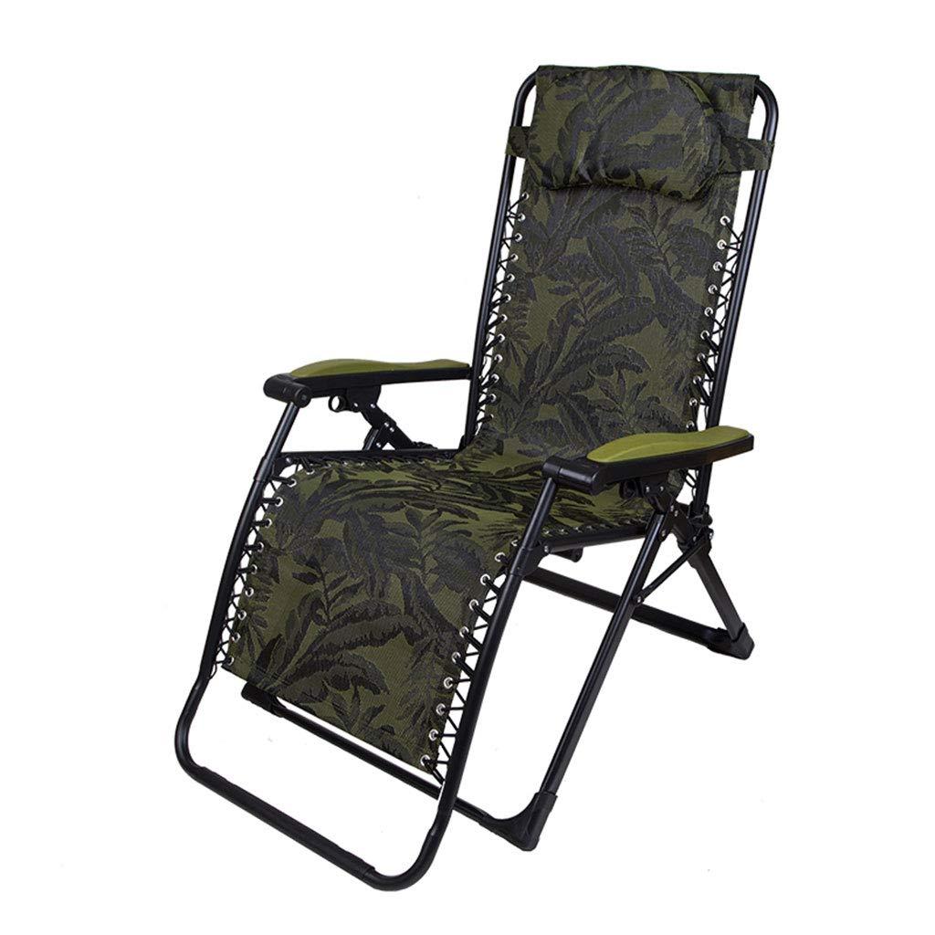KAI LE Faltender Klubsessel, Büro, zum verbreiterter Siesta-Mittagspause-Stuhl, Sommer-Alter Mann-Hauptbalkon-Freizeit-kühler Stuhl zu erhöhen