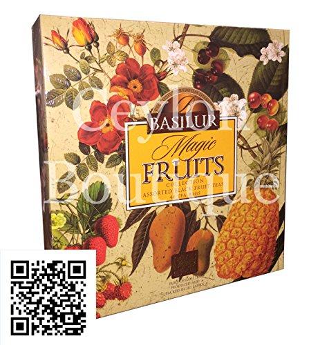 Basilur Tea - Magic Fruits - 40 Tea Bags Assorted Gift Pack