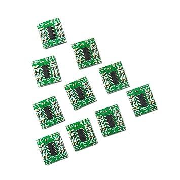 Homyl 10 piezas 2CH (3 x 3 vatios) PAM8403 Bluetooth Clase D Amplificador de