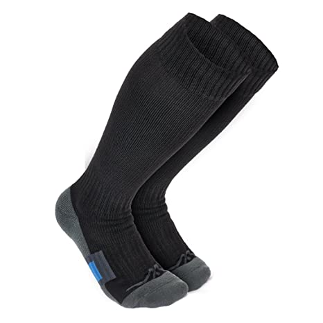 538a836b684 Wanderlust Travel Compression Socks - Premium Graduated Support Stockings  For Men   Women - Prevents Swelling