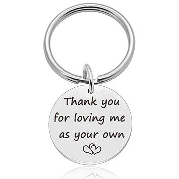 Amazon.com: Gracias por quererme como tu propio – mamá Dad ...