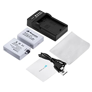 1pc Usb Battery Charger For Canon Lp-e5 Eos 1000d 450d 500d Kiss F Kiss X2 Rebel Xsi Black New Accessories & Parts