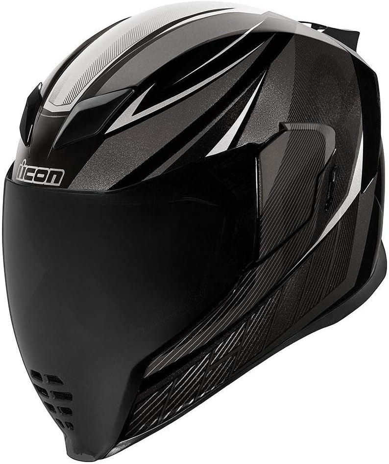 ICON 2019 QB1 Casque airflite pour Moto Noir