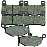 #2: Front and Rear Kevlar Carbon Brake Pads for Suzuki GSXR GSX-R 750 2006 2007 2008 2009 2010