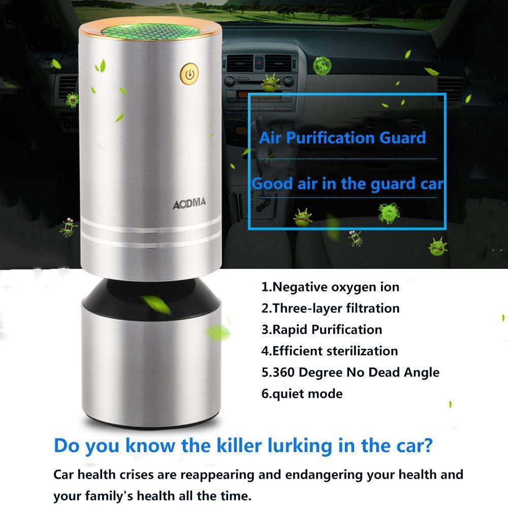 HLKYB El purificador de Aire Ionizer para automóviles, Elimina el ...