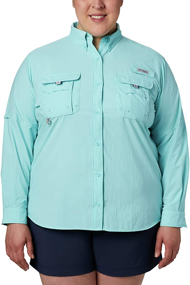 Columbia Women/'s Eddyline Long Sleeve Fishing Shirt 7540
