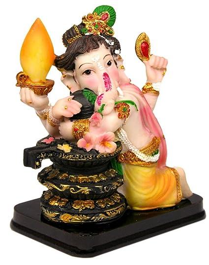 amazon com krishna culture cute baby sivanandana ganesh with siva