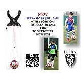 Llera Sport Trainer Soccer Ball. Soccer équipement d'entraînement. Soccer Trainer Aid. Ballon d'entraînement de Football. Soccer Solo Kicking Practise. Soccer Skill Boule. Trainer Soccer.