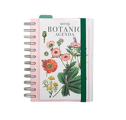 Grupo Erik Editores AGEDP1909 - Agenda anual 2019 con diseño Botanical, día pagina