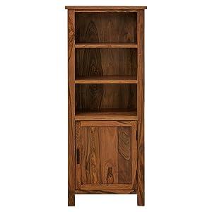 The Attic Alaska Bookshelf (Lacquered, Natural)