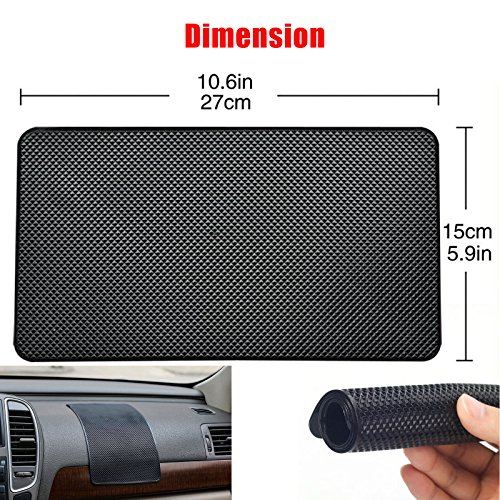 1 PC L size Anti-Slip Car Dashboard Sticky Pad Non-Slip Mat Holder for GPS Phone holder Free shipping