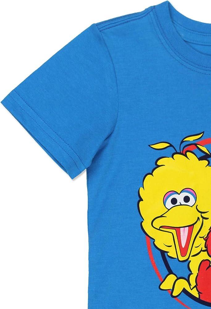 Sesame Street Boys Short Sleeve Tee Baby//Toddler//Little Kid