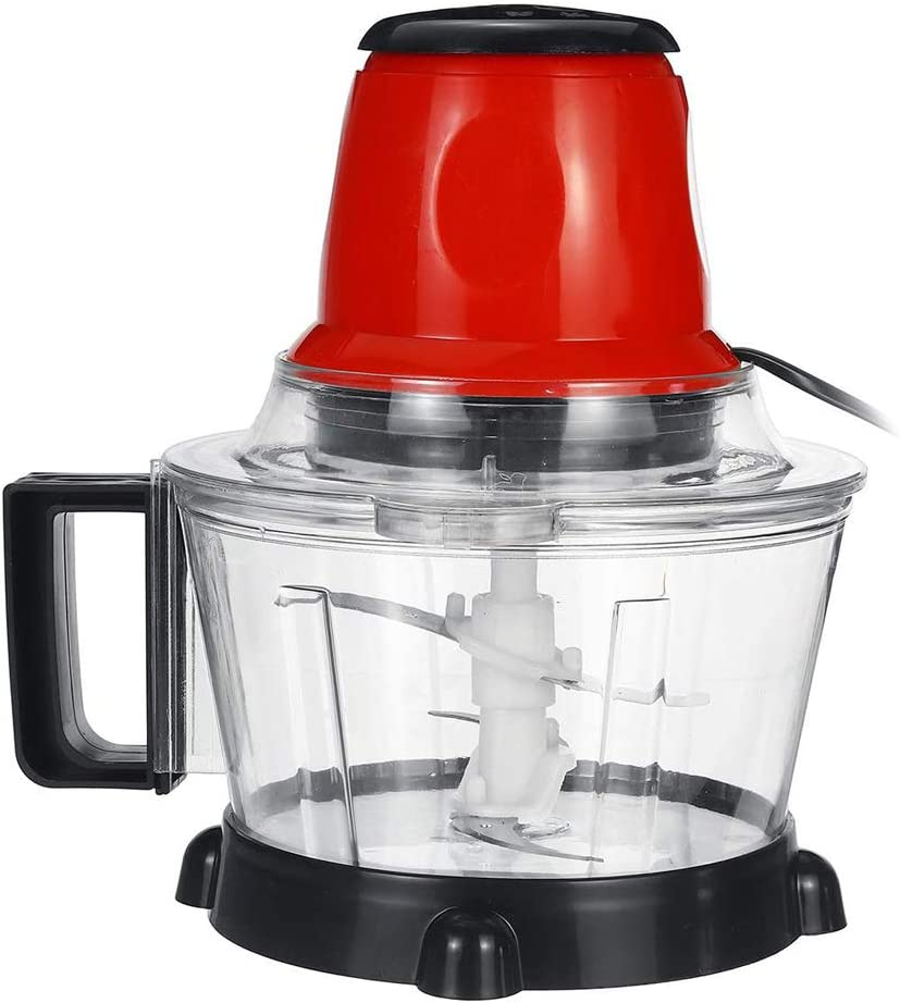 SUNSHIN Electric Chopper, Food Processor Meat Grinder 3L, 300W, Stainless Steel Blades, for Baby Food, Meat, Onion, Vegetables