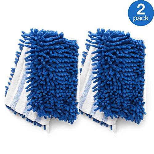 O-Cedar Dual-Action Microfiber Flip Mop Refill (Pack of 2) (Power Strip Sponge Mop)